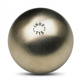 Boules de pétanque Inox 115 tendre - La boule bleue B_BX115