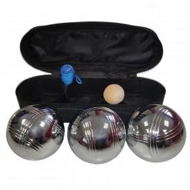 Boules de pétanque loisir + sacoche + 1 but - La boule bleue B_BLOISIRL