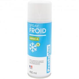 Bombe de froid à l'arnica 400 ml Prestoglas - Sporti 066168