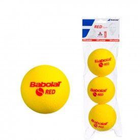 Sachet 3 Balles Red Foam