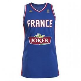 Maillot Equipe de France basketball Domicile Adidas