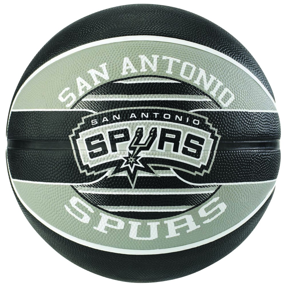 Spurs First Team Players Squad: Ballon Team NBA San Antonio Spurs Spalding