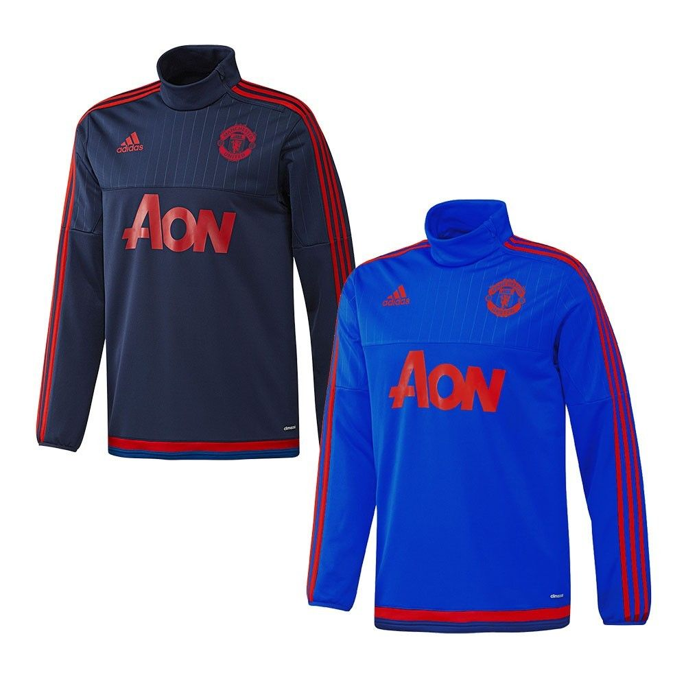 sweat adidas training top manchester united integral football. Black Bedroom Furniture Sets. Home Design Ideas