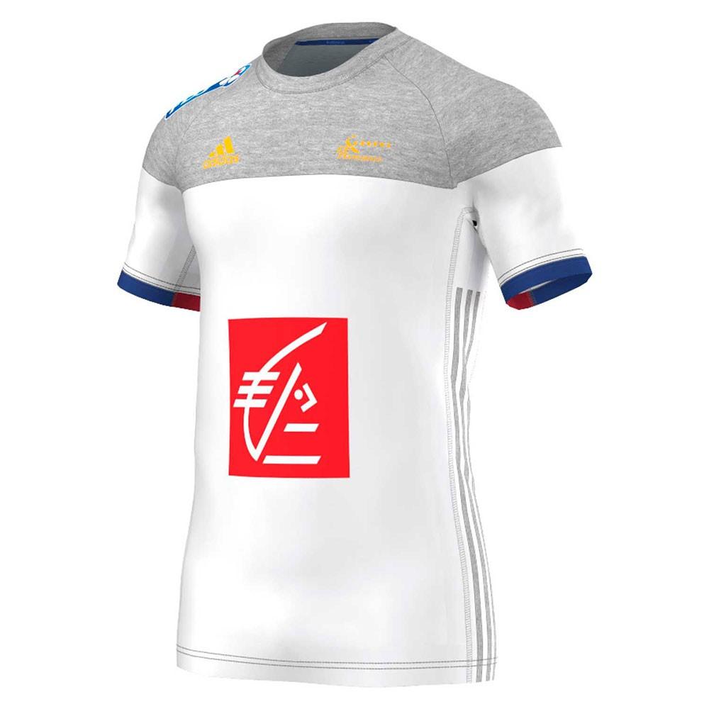 Maillot equipe de france handball ext rieur 2016 adidas for Maillot exterieur