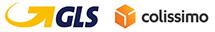 Logos des transporteurs - GLS / Colissimo