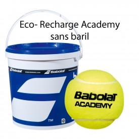 Eco-recharge 72 Balles sans pression Academy Bag